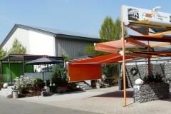 Ausstellung Markisenständer